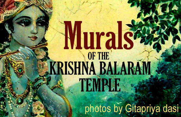 Murals of the Krishna Balarama Mandir, Vrindavana, India thumbnail