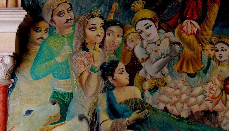 krishna and balaram relationship