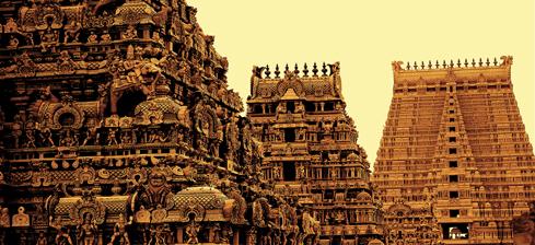 Sri Rangam Gopurams