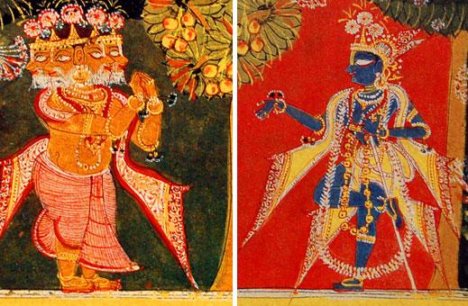 Brahma-vimohan detail